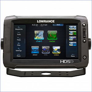 "Lowrance HDS-9 Gen3 ROW with StructureScan + HST-WSBL  (000-11800-002 - 9"")"