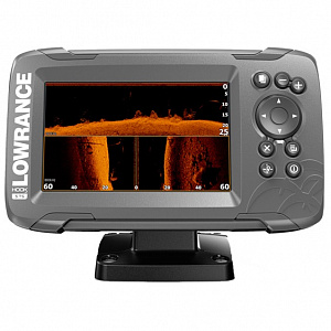 Lowrance HOOK2-5 with TripleShot US Coastal/ROW