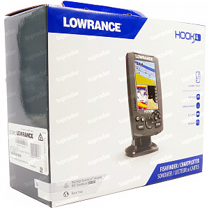 Lowrance Hook-4 Mid/High/DownScan