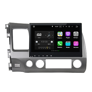 Штатная магнитола FarCar s130+ для Honda Civic 2006-2011 Big Screen на Android 7.1 (W044BS)