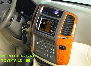 Штатная магнитола Intro CHR-2176 Land Cruiser Toyota Land Cruiser 100