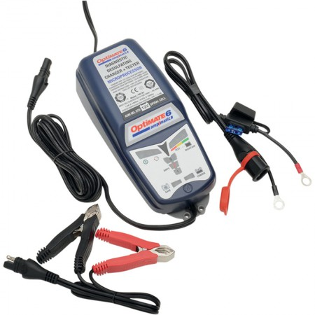 Зарядное устройство Optimate 6 TM180SAE (+ Антисептик-спрей для рук в подарок!)