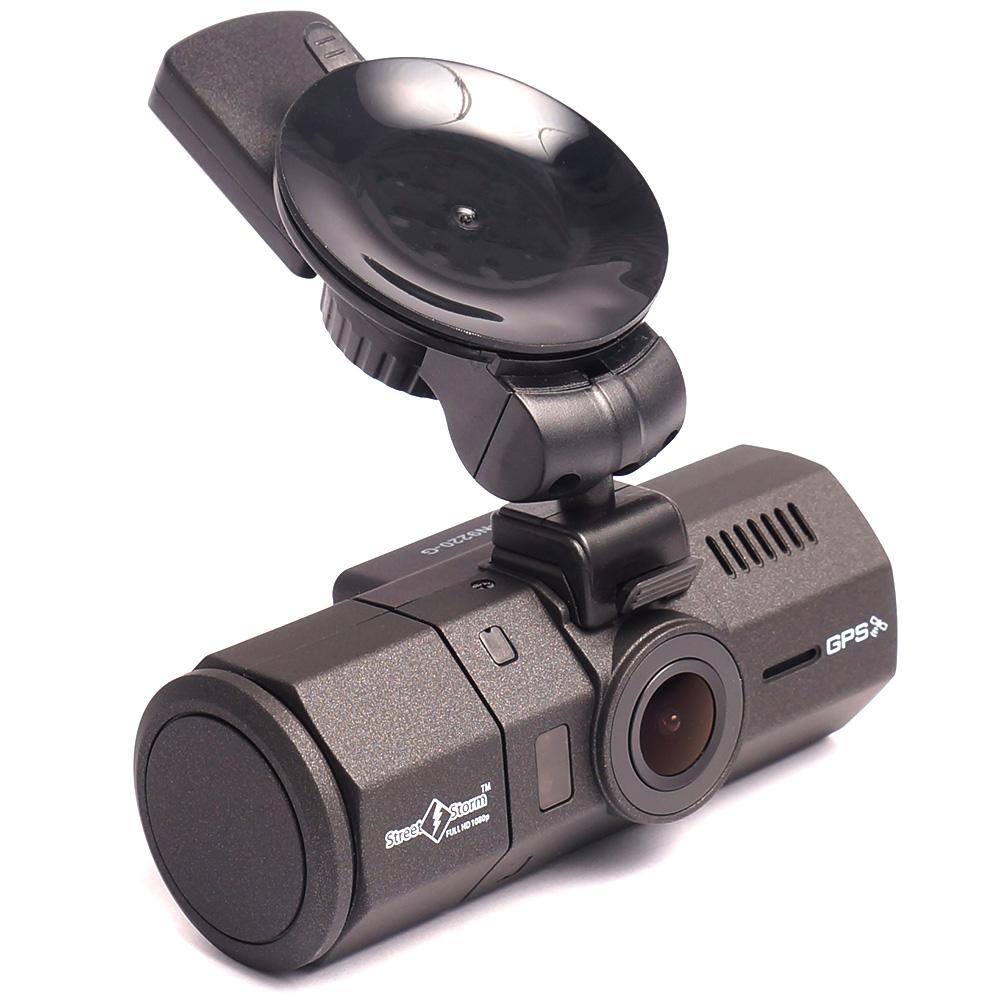 Видеорегистратор с двумя камерами и gps модулем Street Storm CVR-N9220-G (+ Разветвитель в подарок!)