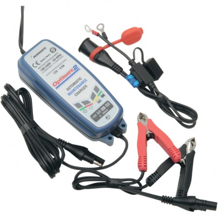 Зарядное устройство Optimate 2 TM420 (+ Антисептик-спрей для рук в подарок!)