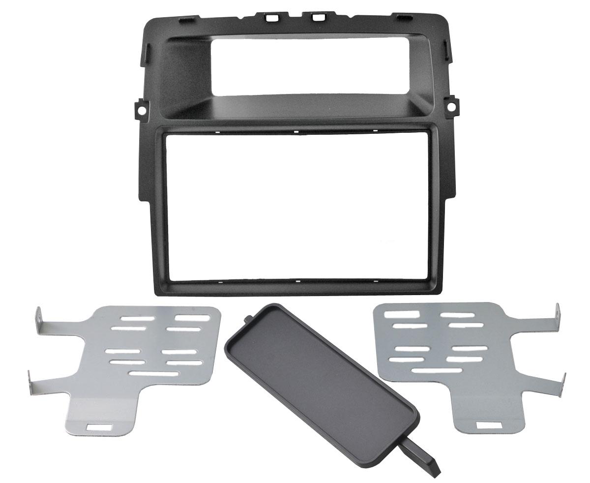 Переходная рамка Intro RFR-N19A для Renault, Nissan, OpelПереходные рамки<br>Intro RFR-N19A. Переходная рамка RFR-N19 подходит для автомобилей RENAULT Trafic 2010-2014, NISSAN Primastar2010-2014, OPEL Vivaro2010-2014, рамка предназначена для установки автомагнитолы формата 2 DIN, цвет и текстура пластика переходной рамки идеально сочетаются с приборной панелью автомобиля.<br>