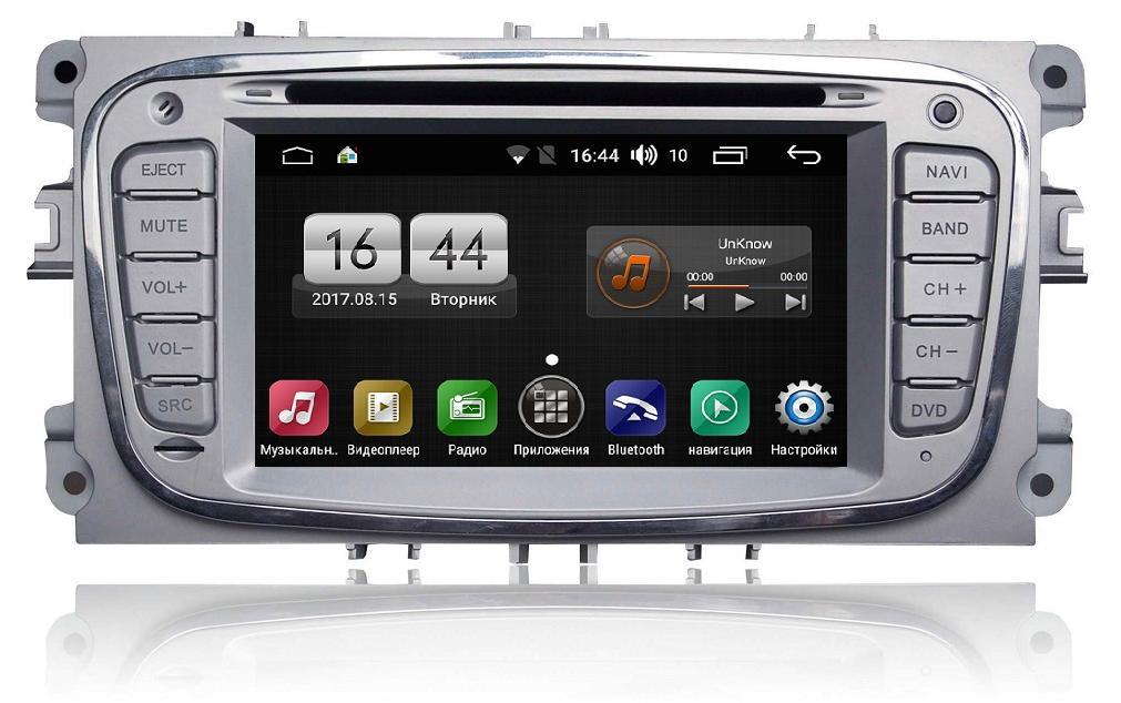 Автомагнитола FarCar s170 Ford Focus, Mondeo, C-Max, Galaxy Android (L003) (+ Камера заднего вида в подарок!)