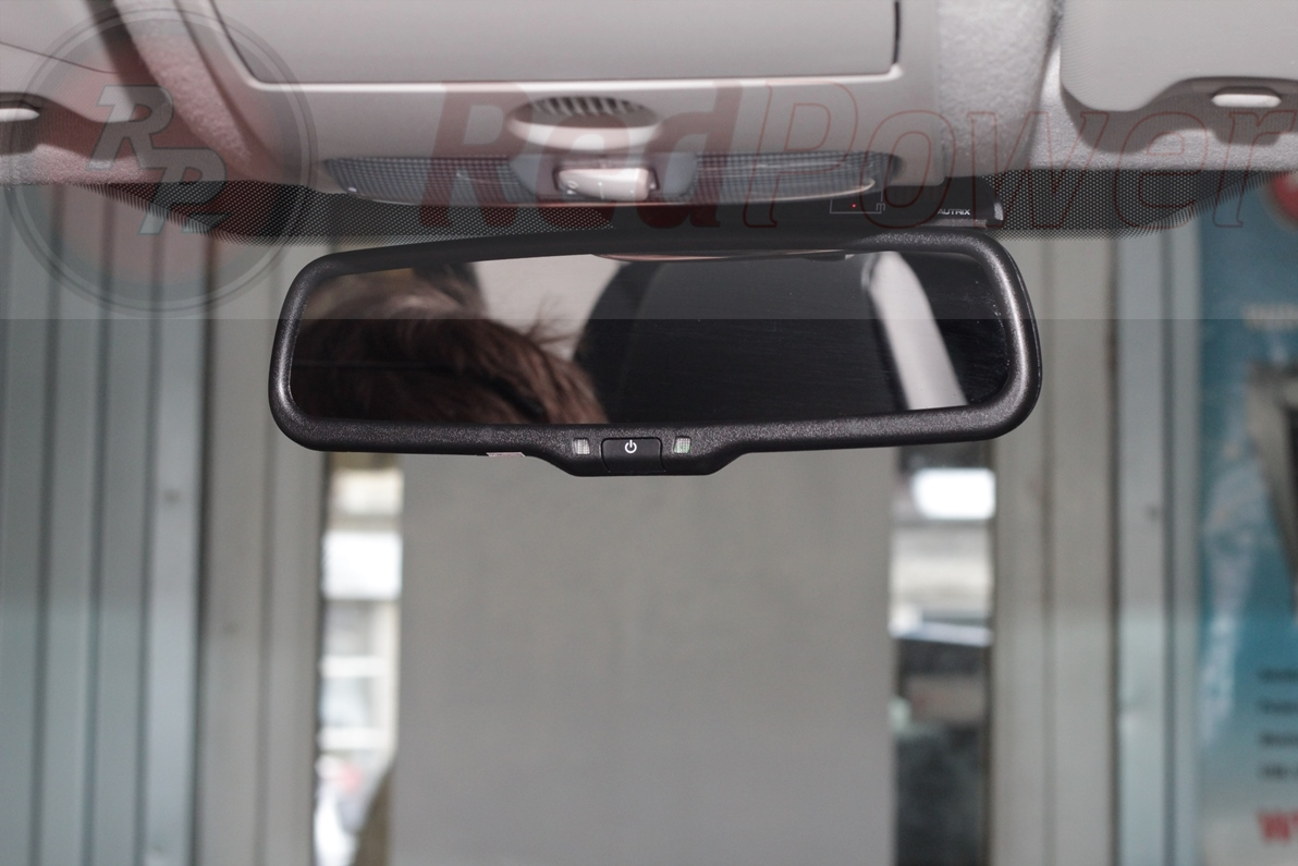 Зеркало заднего вида с двухканальным видеорегистратором Redpower MD50 и камерой переднего/заднего вида