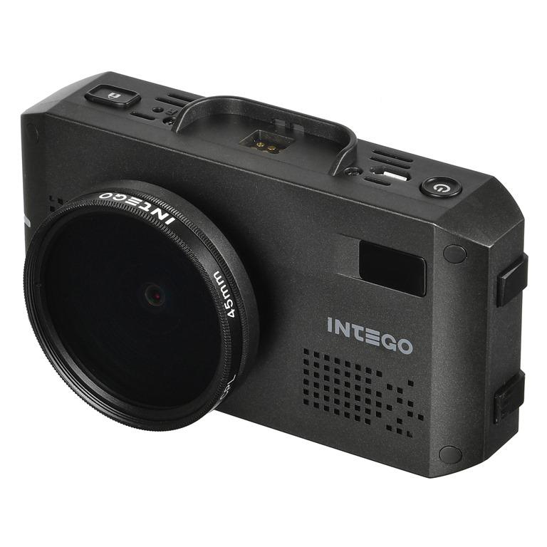 Видеорегистратор с радар-детектором и GPS модулем INTEGO VX-1200S (+ Разветвитель в подарок!)